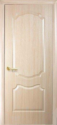 Дверь межкомнатная Вензель Ясень new 600 мм, глухая.