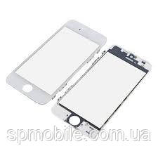 Стекло с рамкой и пленкой OCA Apple iPhone 5s White