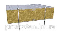Стеновые сэндвич-панели с наполнителем из минеральной ваты 80 мм, фото 2