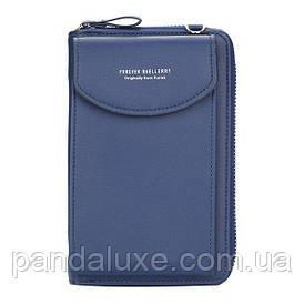 Сумочка Клатч гаманець жіночий Baellerry Forever Young синій