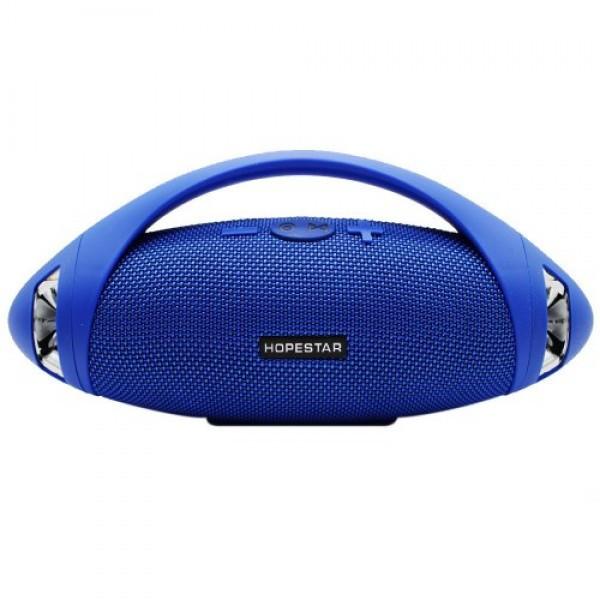 Портативная Bluetooth колонка Hopestar H37, синяя