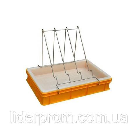 Ванночка для распечатывания рамок,высота 100мм,  пластиковое сито  LYSON Польша, фото 2