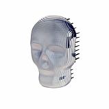 Гребінець для волосся Tangle Angel REBEL White Chrome Білий хром Розмір: 10 на 7 см, фото 2