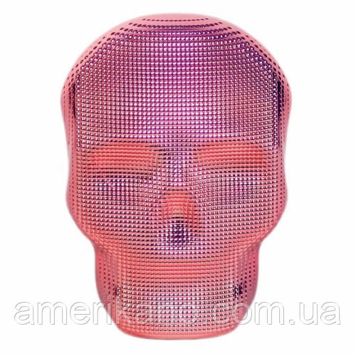 Расческа для волос Tangle Angel REBEL Pink Chrome Розовый хром Размер: 10 на 7 см