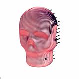 Гребінець для волосся Tangle Angel REBEL Pink Chrome Рожевий хром Розмір: 10 на 7 см, фото 2