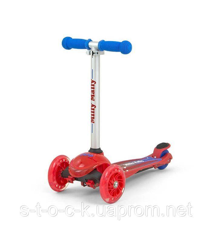 Самокат Millymally Scooter Zapp для детей от 3-х лет
