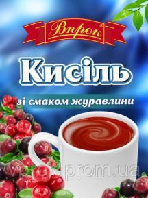 """Кисіль  зі смаком журавлини """"Впрок""""  65 г"""