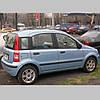 Молдинги на двері для Fiat Panda II 2003-2012