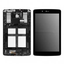 Дисплей LG V400 G Pad 7.0, V410 с сенсором (тачскрином) и рамкой черный