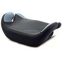 Бустер детский автомобильный Joy, от 3,5 до 12 лет, 15-36 кг, серо-черный (43616), фото 3