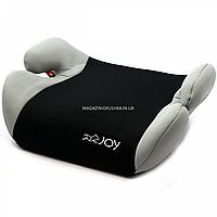 Бустер детский автомобильный Joy, от 3,5 до 12 лет, 15-36 кг, черно-серый (73652)
