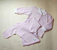 Набор распашонка и кофточка для новорожденной девочки