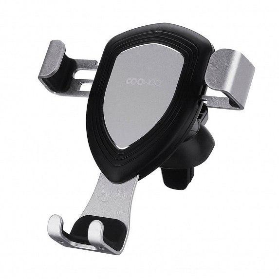 Автодержатель CooWoo T100 Gravity Car Phone holder Space Silver (3011017)