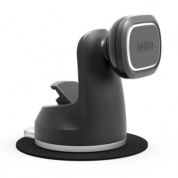 Автодержатель iOttie iTap Magnetic 2 Dash &  Windshield Mount Black (HLCRIO156)