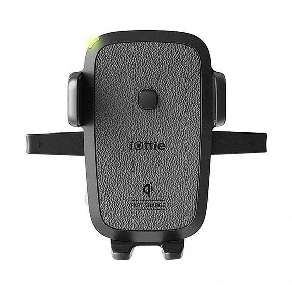 Автодержатель-зарядка iOttie Easy One Touch Wireless Fast Charging Dash & Windshield Mount (HLCRIO134AM)