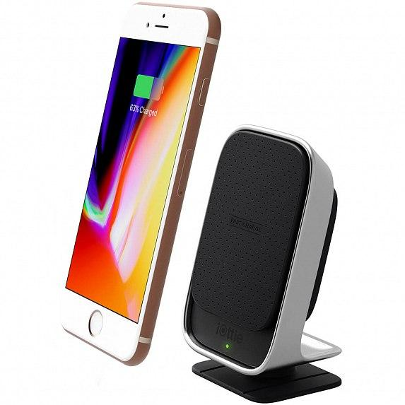 Автодержатель-зарядка iOttie iTap Wireless Fast Charging Magnetic Smartphone Mount (HLCRIO133)
