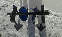 Дисковой окучник на двойной сцепке БелМет (34 см, сцепка 80 см)