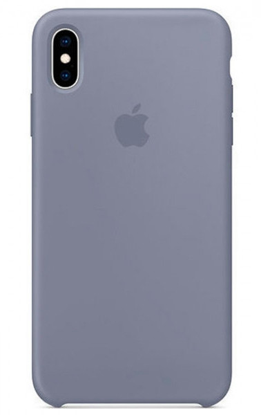 Задняя накладка Hi-Copy Silicone Case APPLE IPHONE XR (№57 GRAY BLUE)