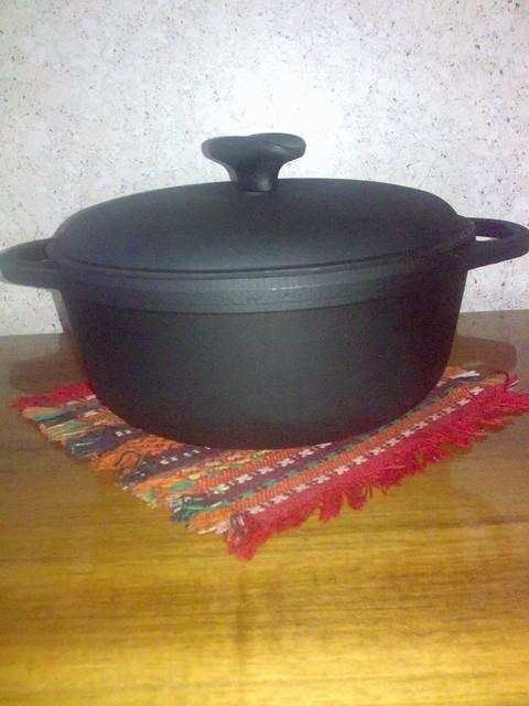 Посуд чавунна: чавунний казан 3л з кришкою «Сітон»