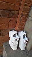 Кроссовки женские Fila Disruptor в стиле Фила Дисраптор эко кожа,  Белый