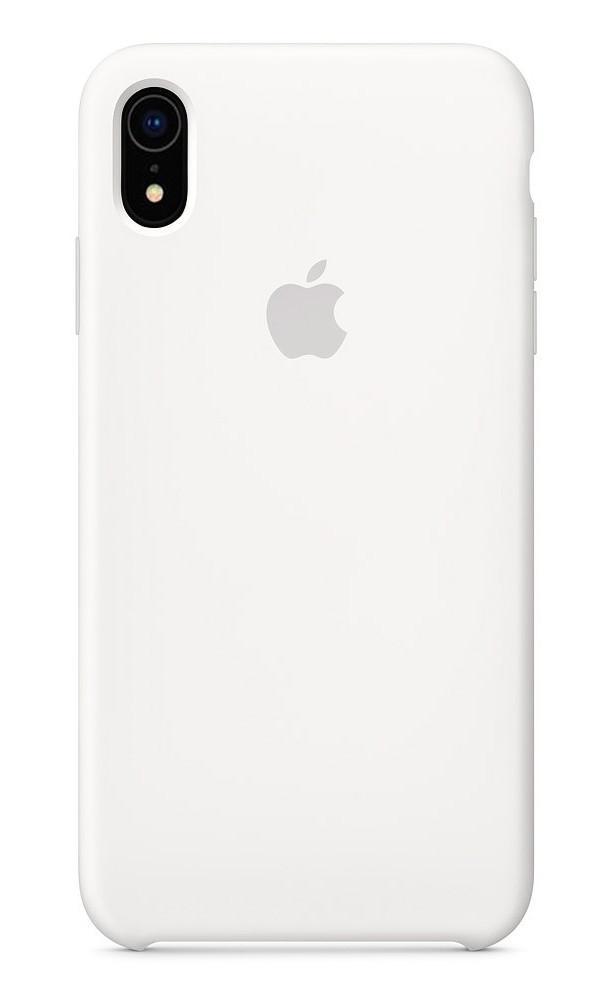Задняя накладка Hi-Copy Silicone Case APPLE IPHONE XR (№9 WHITE)