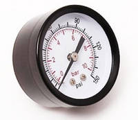 """Инидикатор давления 1/4"""" 10Bar (Д 50мм)"""