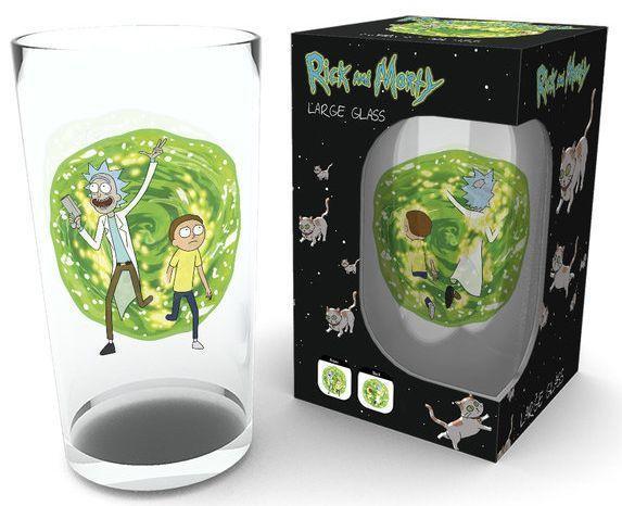 Стакан GB eye Rick and Morty - Portal Glasses (GLB0117)