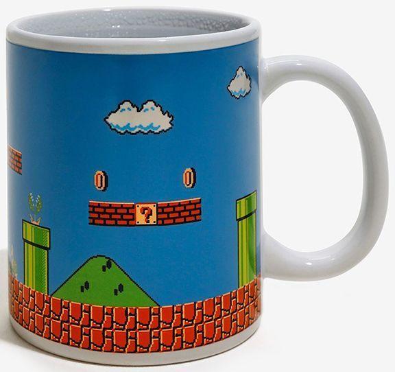 Тепловая кружка Paladone Super Mario. Heat Change Mug 300  ml