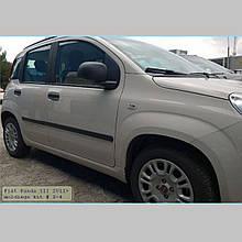 Молдинги на двері для Fiat Panda III 2012-2021