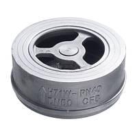 Клапан обратный межфланцевый нержавеющий AISI 304 Ду 32