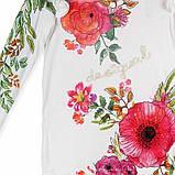 Женская блуза белая с принтом Desigual, фото 2