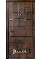 Вхідні Двері В Будинок ПВ-157 +VQ Дуб Тeмнийt (Vinorit — Патина)