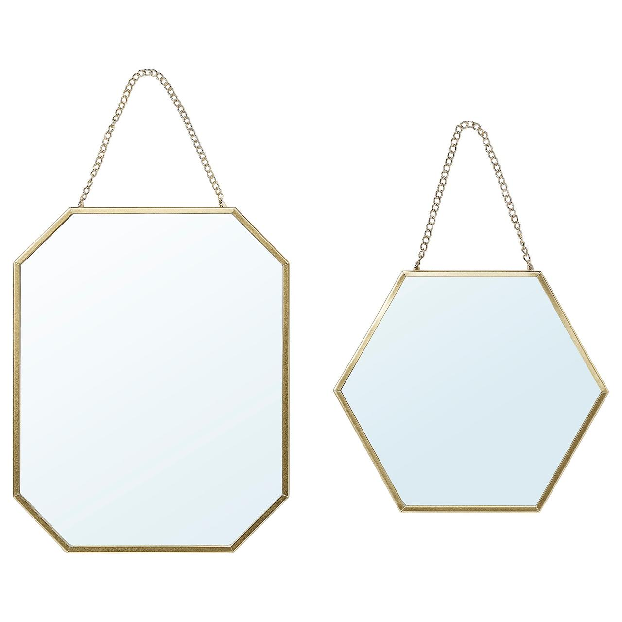 IKEA LASSBYN Зеркала, 2 шт.