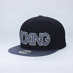 Детская кепка бейсболка для мальчика 3-16 лет INAL boxing XS / 51-52 RU Черный 60251
