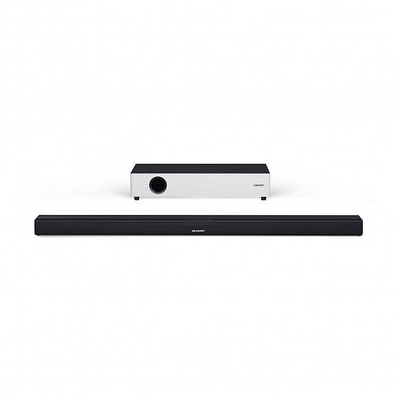 Cаундбар SHARP 2.1 Ultra Slim Soundbar with Flat Wireless Subwoofer (HT-SBW160)