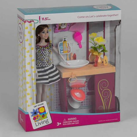 Лялька JX 200-53 (36/2) з аксесуарами, в коробці, фото 2