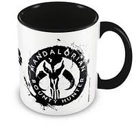 Кружка Pyramid International Star Wars: The Mandalorian - Sigil Black  Mug 315 ml