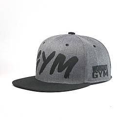 Кепка бейсболка мужская INAL gym M / 55-56 RU Серый 108055