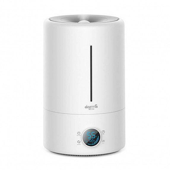 Увлажнитель воздуха Deerma Humidifier 5L (Touch) with UV Lamp Sterilization White (Международная версия) (DEM-F628S)