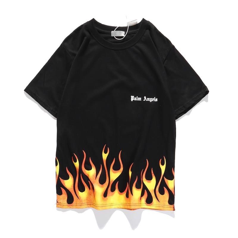 Футболка Palm Angels Black Fire
