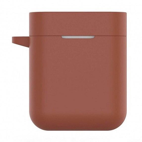 Чехол силиконовый для наушников Xiaomi Mi AirDots Pro (Air True) Brown