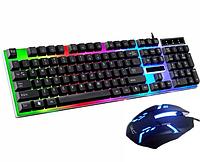 Клавиатура с мышкой и подсветкой К01