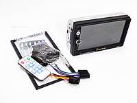 "2DIN Магнитола Pioneer 7077(коротка) 7""+USB+MР3+Fm+Bluetooth+Видео вход + Пульт на руль"
