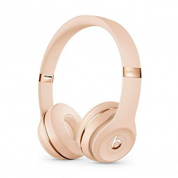 Наушники BEATS Solo3 Wireless On-Ear Headphones Satin Gold (MUH42)