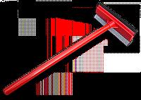 """Скребок 8"""" с деревянной ручкою 52 см, ES9412"""