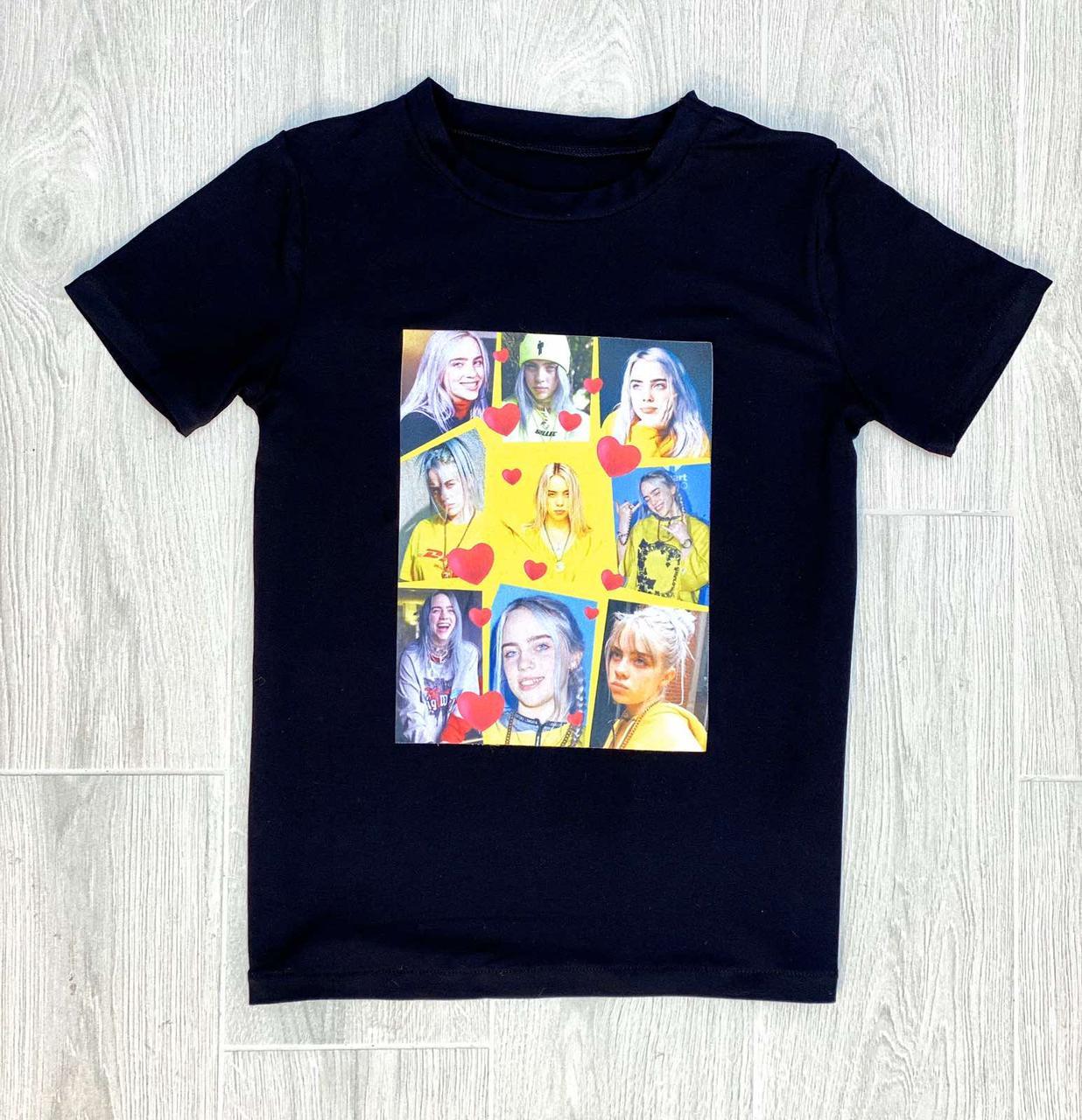 Модная детская футболка Билли Айлиш