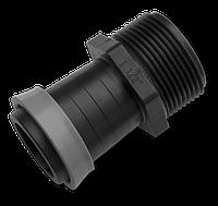 """Адаптер с наружной резьбой 1"""" для ленты оросительной GOLD SPRAY 32 мм, DSTA16-3210L"""