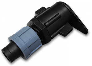 Старт-Коннектор на плоский шланг, довгий, DSTA11-03L