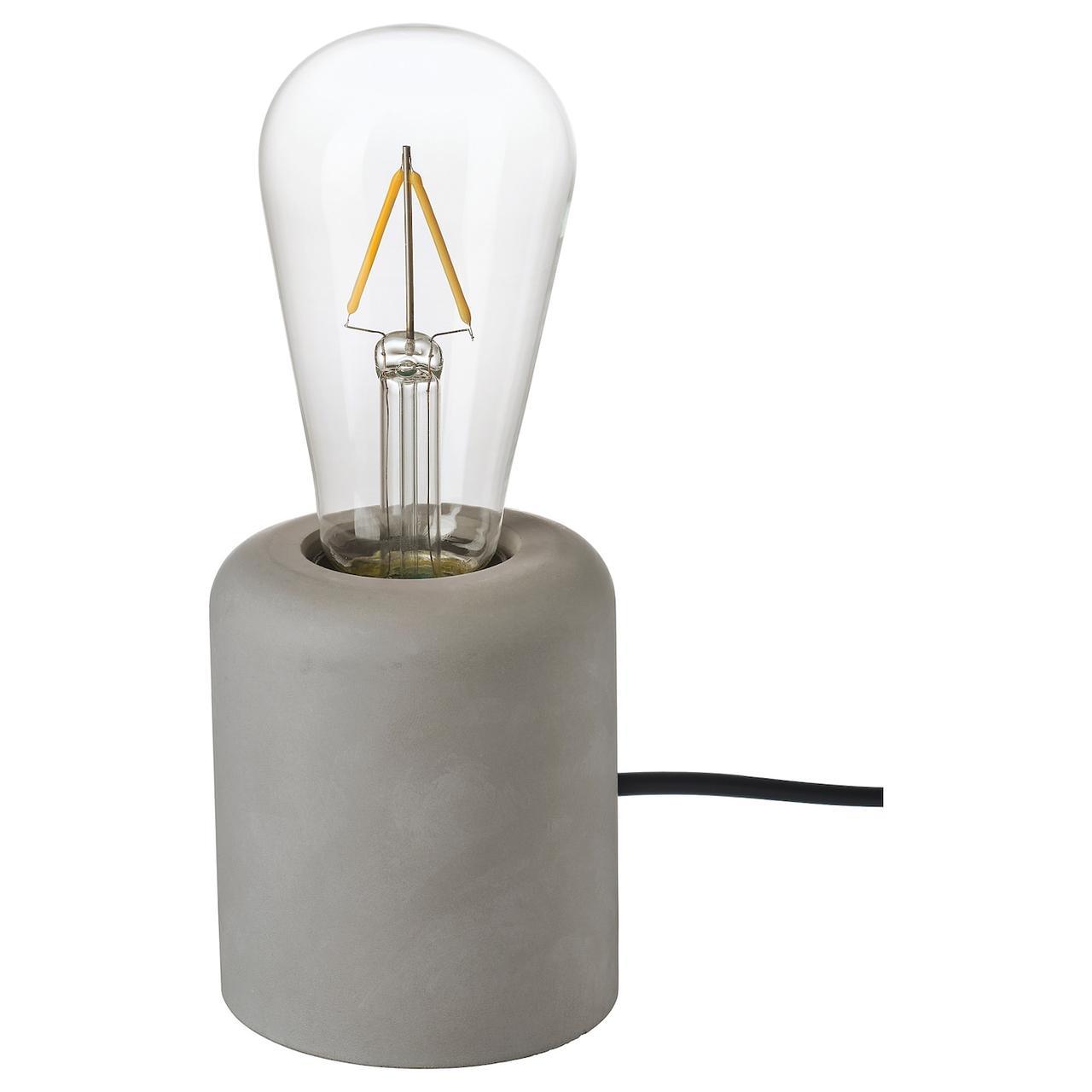 IKEA RÅSEGEL / LUNNOM Настольная лампа