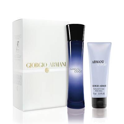 GIORGIO ARMANI Armani Code Woman ПОДАРУНКОВИЙ НАБІР парфумована вода 75ml + лосьйон для тіла 75ml ОРИГІНАЛ